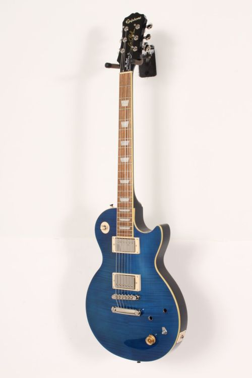 small resolution of details about epiphone les paul tribute plus electric guitar midnight sapphire