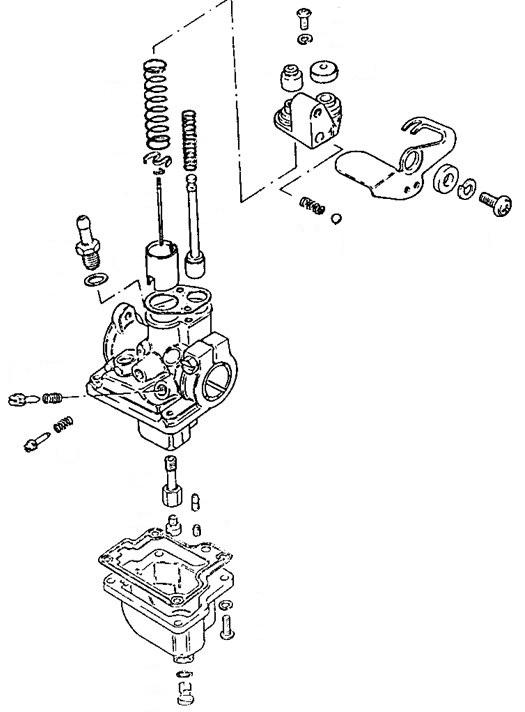 Suzuki OEM Carburetor Assembly 1983-1984 ALT50 1984-1987