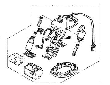 Honda Fuel Pump Assy ST1300 ST1300A ST1300P ST1300PA ST