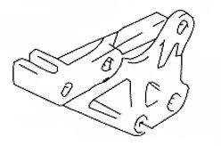 SUZUKI OEM CHAIN GUARD GUIDE 1990-2013 DR250S SE DR350S SE