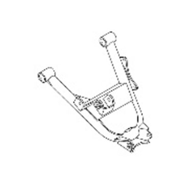 YAMAHA OEM RIGHT LOWER REAR ARM RHINO 05-07 660 06-09
