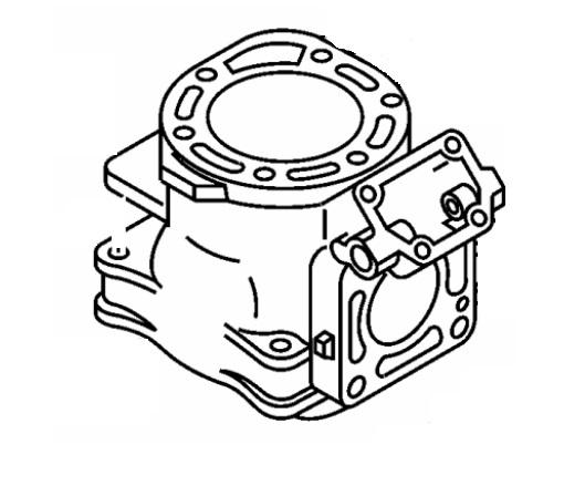 Yamaha CYLINDER WAVERUNNER GP800 GP 800R XL XLT 800 66E