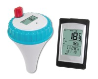 Dr Tech Wireless Swimming Pool Thermometer Clock System w ...