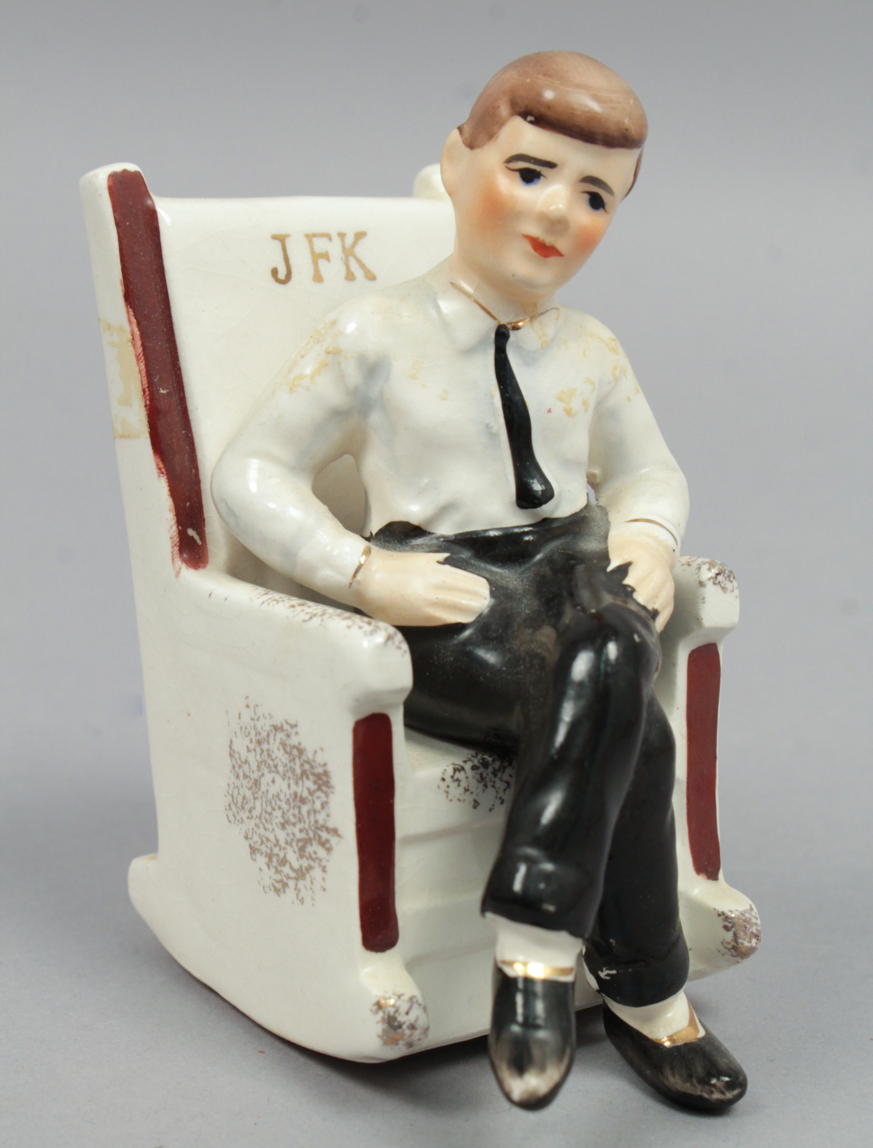 jfk rocking chair ikea dining covers vintage 1962 japanese president kennedy in