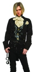 steampunk victorian costume mens goth halloween gentleman clothing costumes vampire witch warlock accessories shoes adult