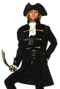 Colonial Pirate Captain Hook Halloween Costume Jacket | eBay