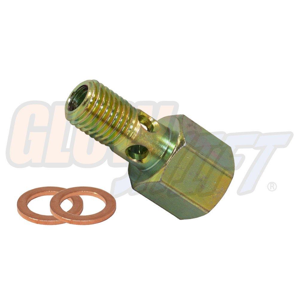hight resolution of 5 9l 24v cummins fuel pressure banjo bolt adapter