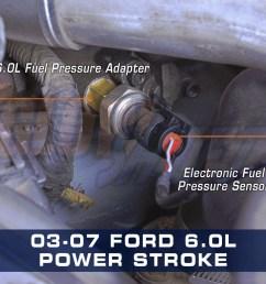 ford 6 0l power stroke diesel fuel pressure adapter [ 1000 x 1000 Pixel ]