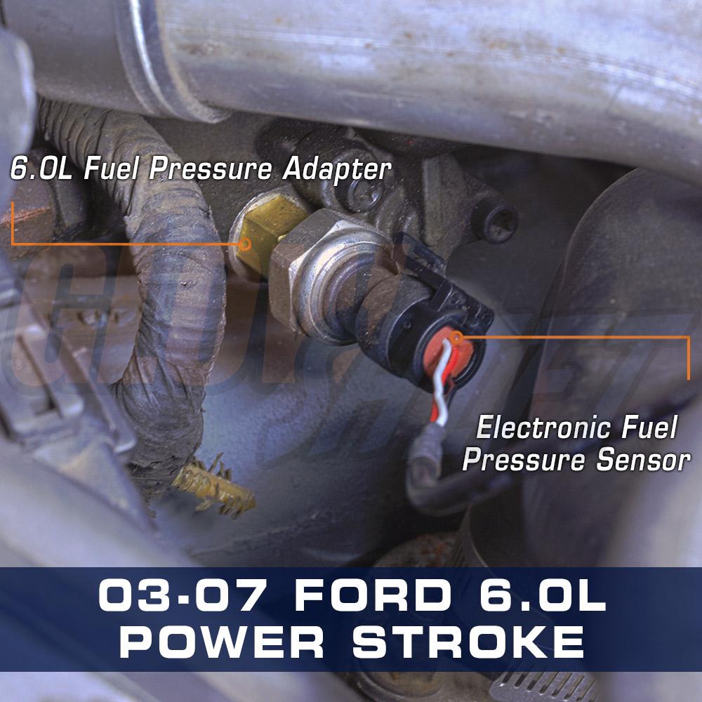 medium resolution of ford 6 0l power stroke diesel fuel pressure adapter