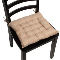4pk Dream Home Chair Pads Square Tufted Cushion Seat ...