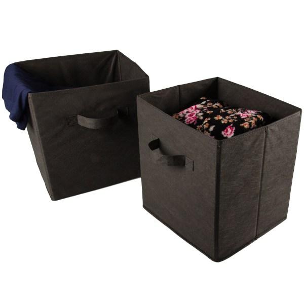 Walmart Fabric Cube Storage Bin
