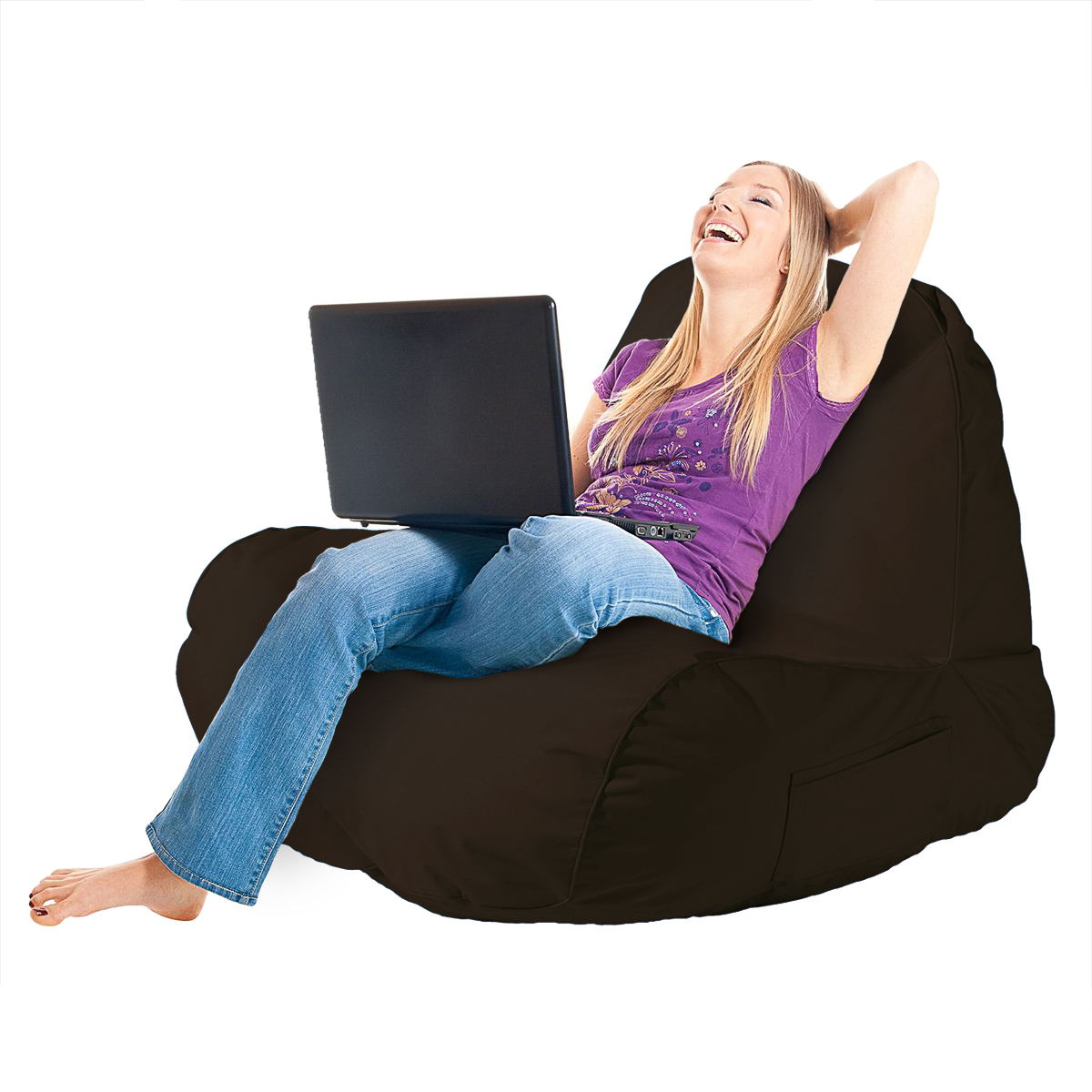 Comfiest Chair Original Comfy Chair Indoor Outdoor Beanbag Dorm Lounger