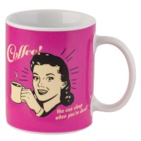 Funny Retro Spoof 11oz Ceramic Coffee Mug Humorous ...