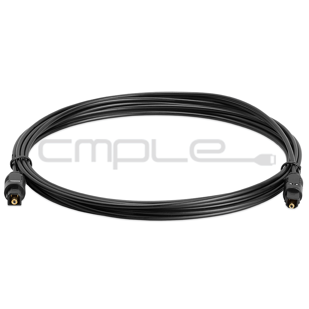 12 FT Digital Fiber Optical Optic Audio TosLink Cable