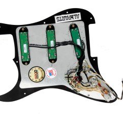 Seymour Duncan Wiring Diagrams Stratocaster Two Way Light Switch Diagram Canada Everything Axe Loaded Strat Pickguard W