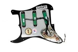 Seymour Duncan Everything Axe Loaded Strat Pickguard w SeriesParallel Switch | eBay