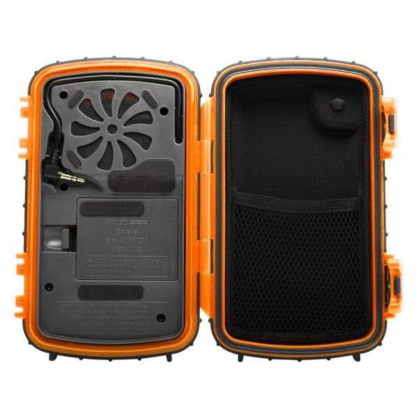 Ecoxgear Gdi-aqcse Waterproof Portable Speaker Case Mp3 Player & Smartphone