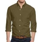 Long Sleeve Button Down Dress Shirt