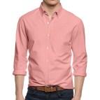 Men's Long Sleeve Button Down Collar Dress Shirts