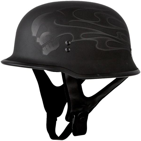 Adult Fly Racing 9mm German Motorcycle Helmet