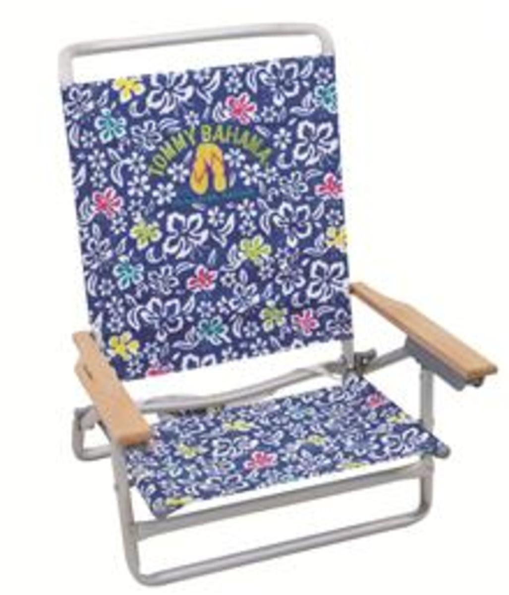 tommy bahama backpack cooler chair blue pine kitchen chairs with arms classic lay flat sand