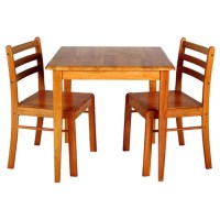 2 Seater Kitchen Table Antique Pine Table And Chairs | eBay