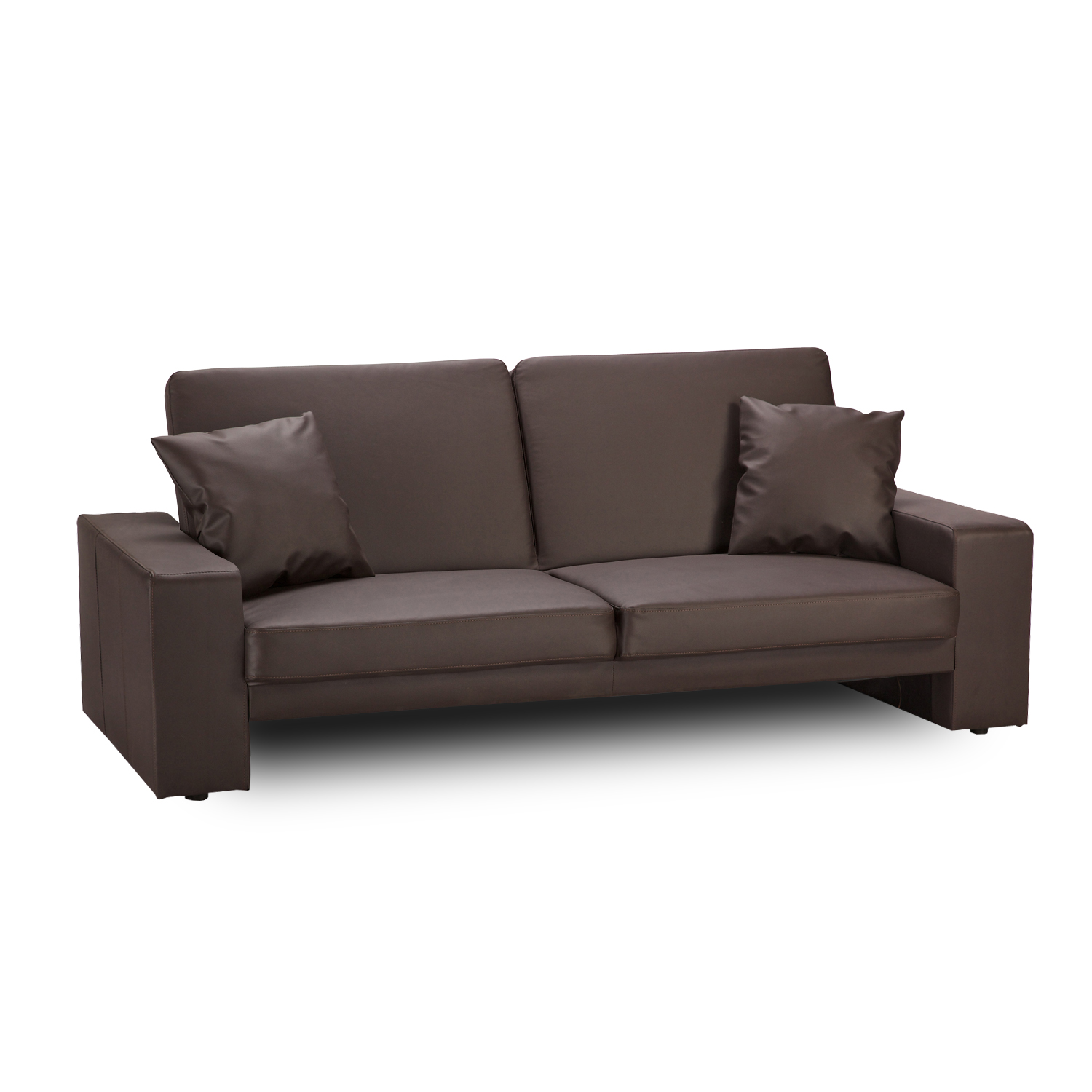 ex display sofa bed uk four hands carnegie cuba brown scatter cushions x2