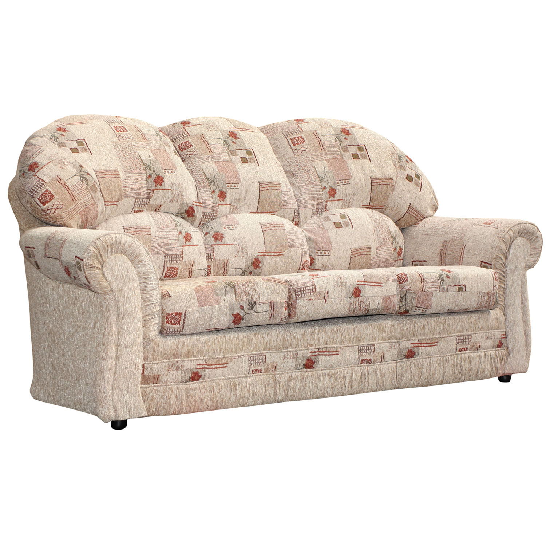 patterned sofas uk wegner cigar sofa pris 3 seater roma floral beige fabirc settee