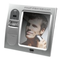 Fogless Mirror Built in FM Radio Gifts for Him Amplifier ...