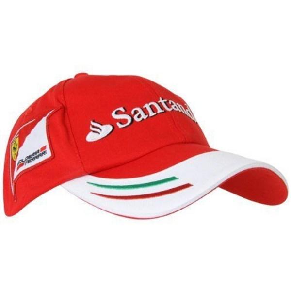 Cap Baseball Hat Formula 1 Scuderia Ferrari Scudetto