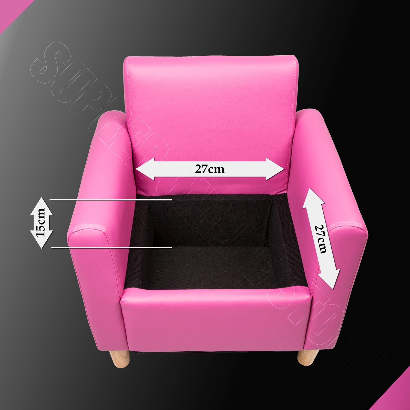 kids arm chairs wooden childrens table and set sofa children lounge chair leather pink black w