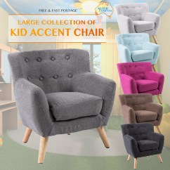 Kids Accent Chair Leather Chaise Lounge Fabric Wooden Lorraine French Sofa