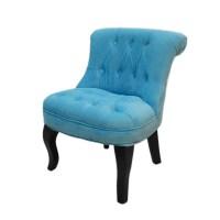 Helene Kids' Button Armchair -Luxury Children Lounge Chair ...