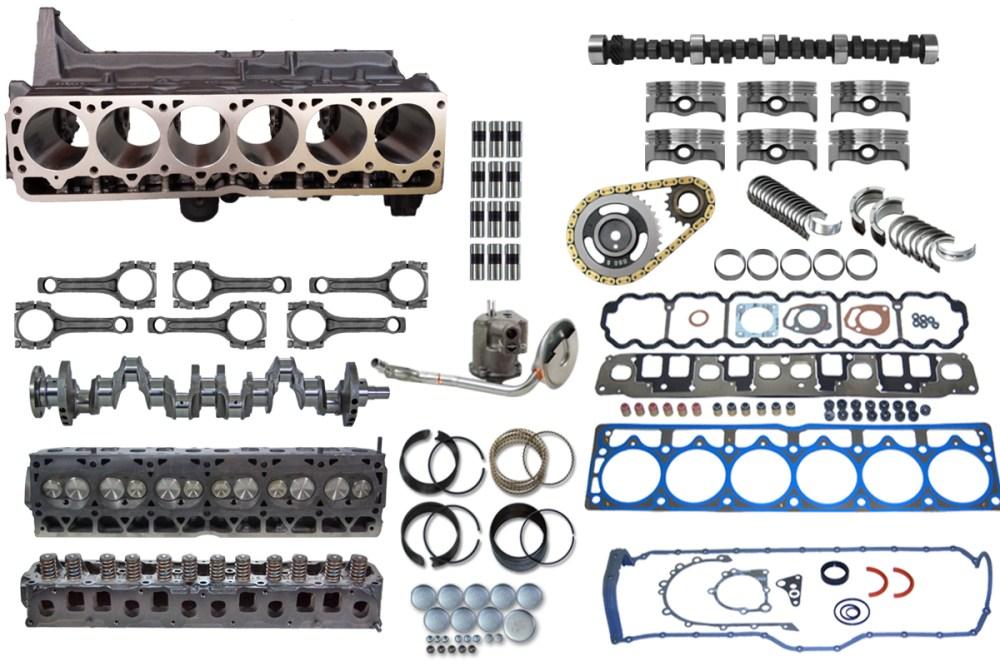 medium resolution of jeep stroker complete engine upgrade kit 4 0 to 4 6 4 7