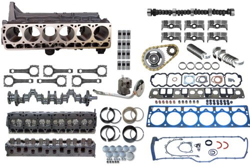 small resolution of jeep stroker complete engine upgrade kit 4 0 to 4 6 4 7
