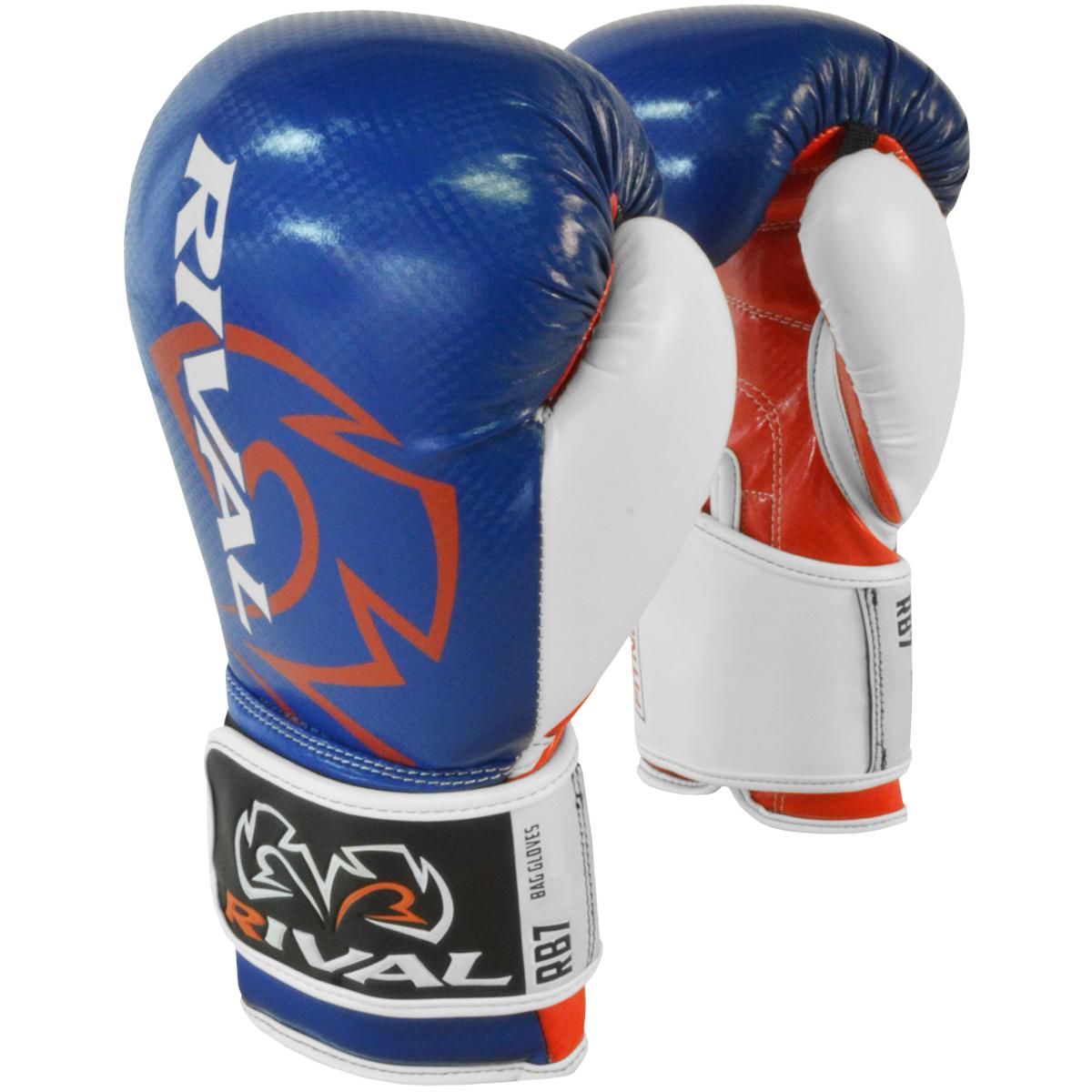 Rival Boxing Gloves White