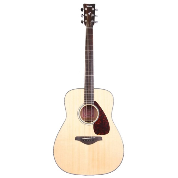 Yamaha Fg700s Sitka Spruce Top Acoustic Guitar Great Condition