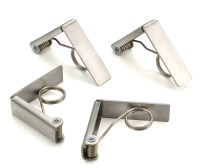 RSVP Set Of 4 Picnic Table Cloth Clips/Holders 18/8 ...