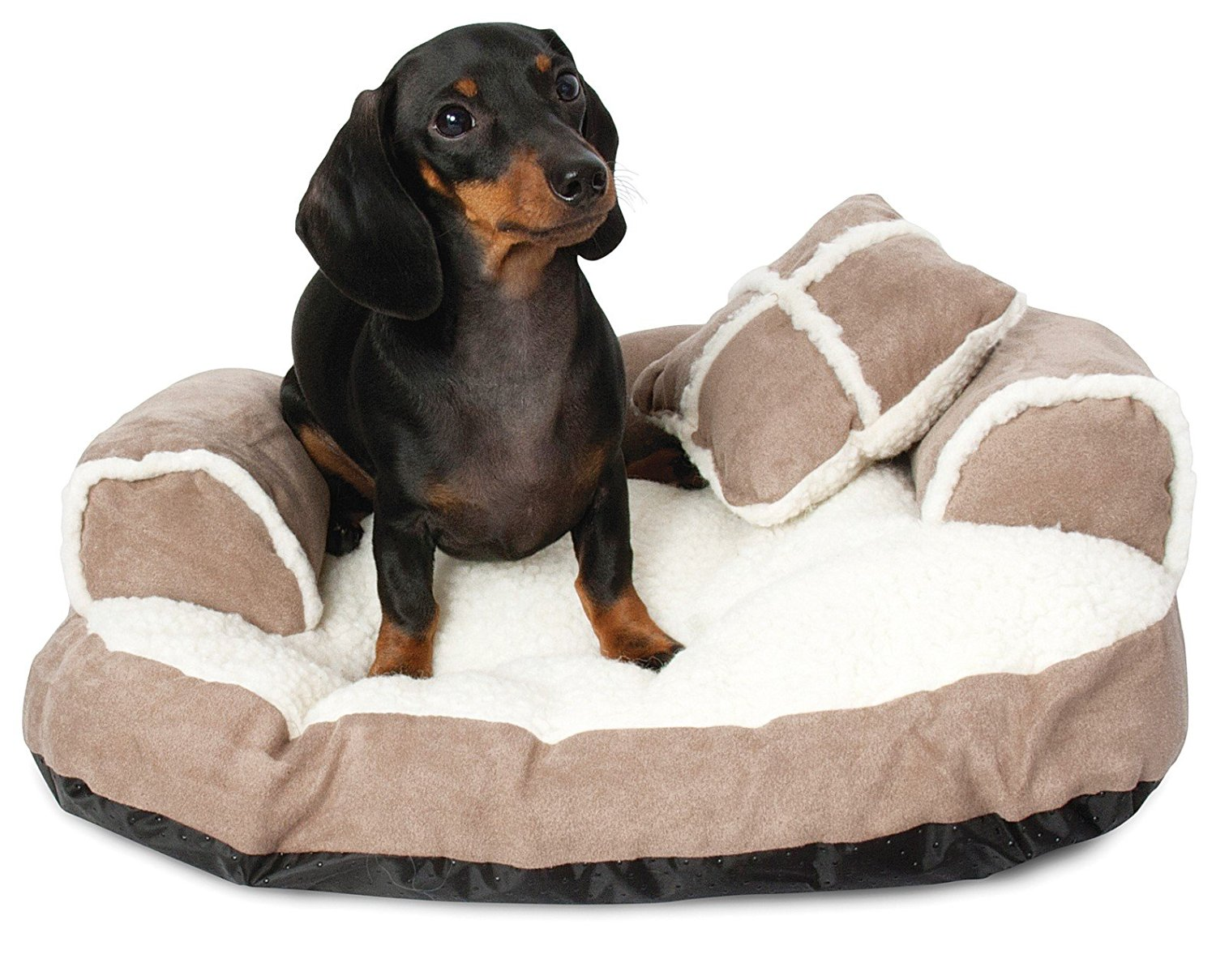 aspen pet sofa bed for dogs cats assorted colors china legs petmate sheepskin dog with pillow sleep surface