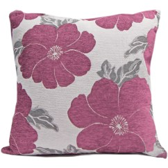 Flower Sofa Covers Jcpenny Chenille Poppy Cushions Large And Small Floral Bed
