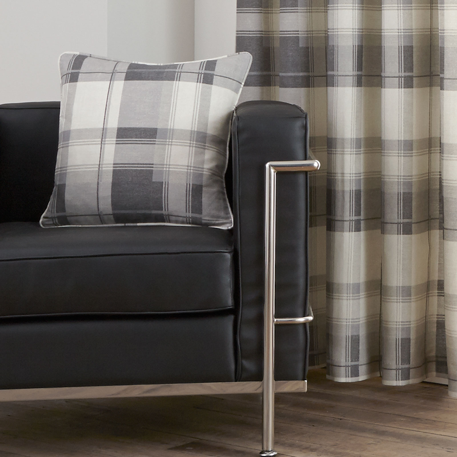 plaid sofa cushions corner bed olivia review highland tartan scatter cushion cover with check