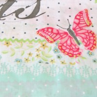 French Chic Paris Duvet Cover Girls Floral Rose Butterfly ...