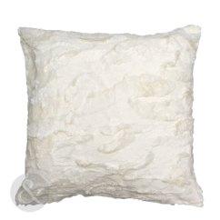 White Fluffy Sofa Cushions Jonathan Table Super Soft And Cushion Cover Faux Fur Snuggle