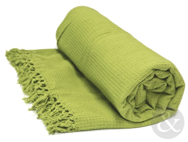 Honeycomb 100 Cotton Throws Extra Large Luxury Thermal Throw Over Blanket