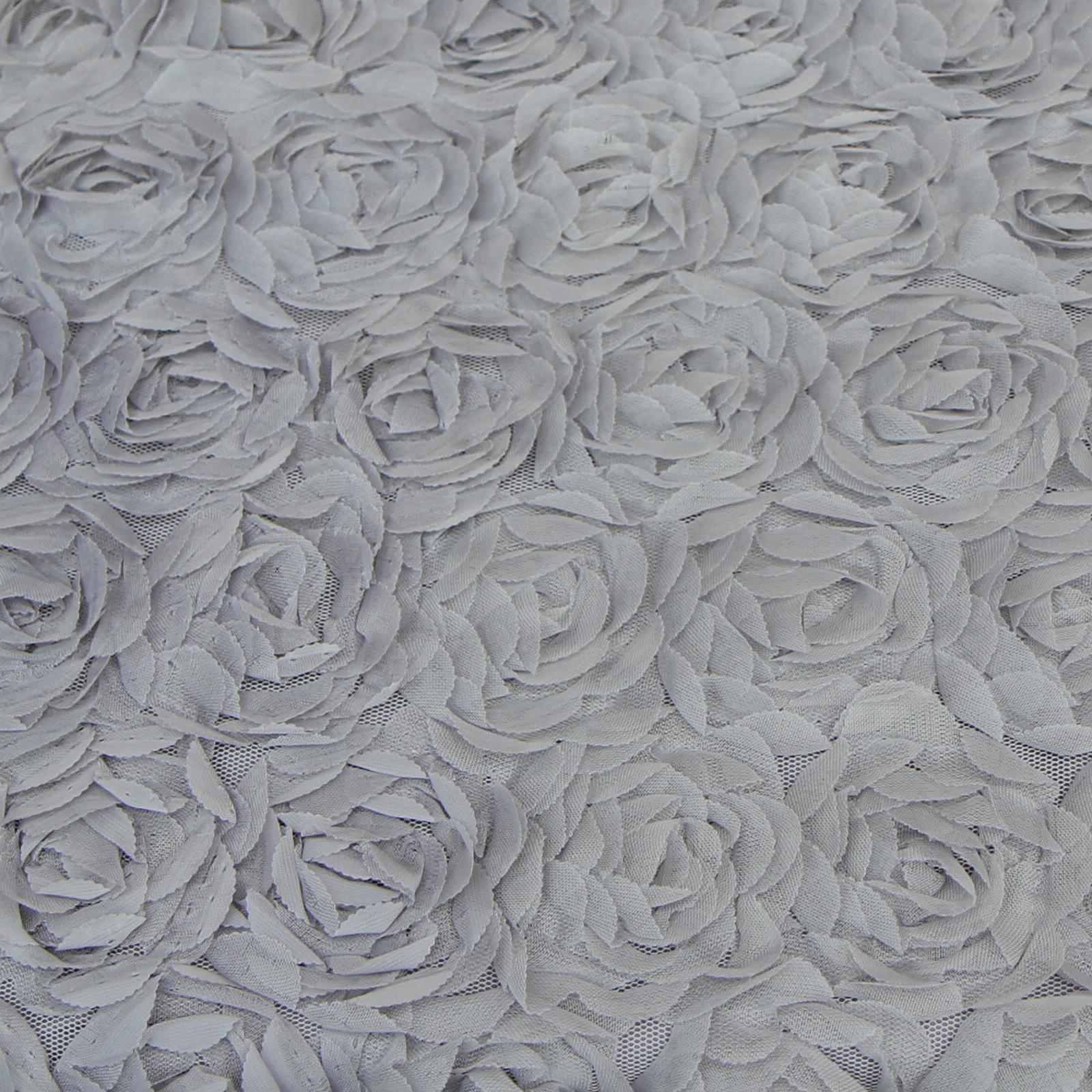 Rose Floral Ruffle Duvet Quilt Cover