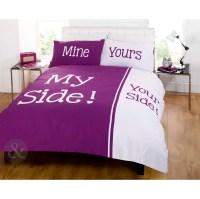 Fun Bedtime Couple Humour Duvet Quilt Cover - Ideal ...
