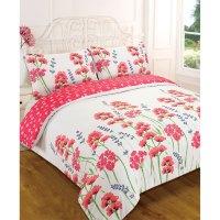 Wild Flower Meadow Duvet Cover - Reversible Floral Bedding ...