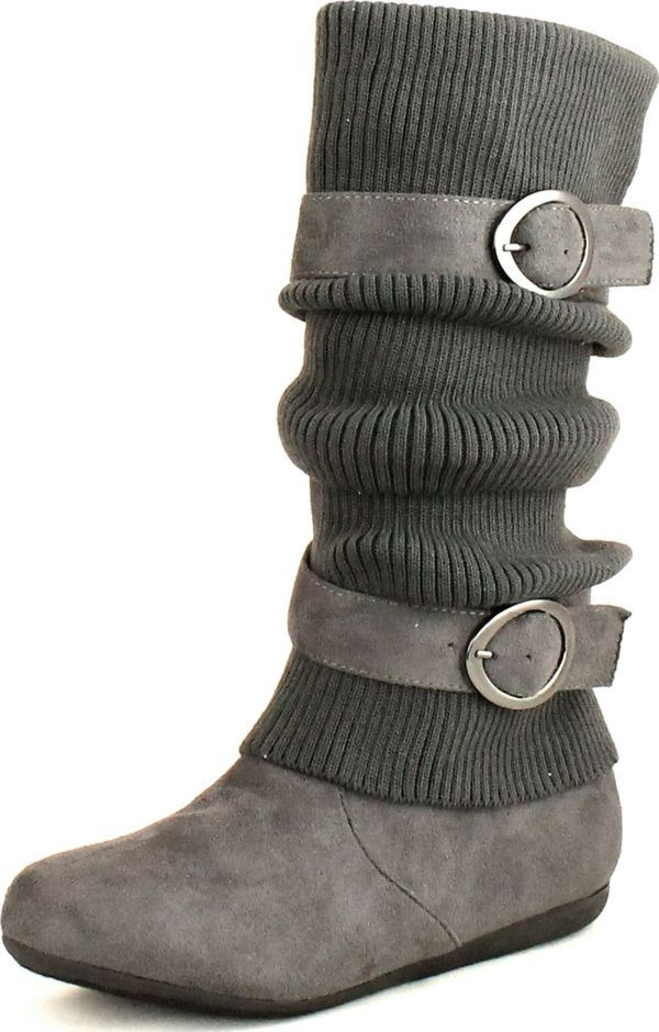 Top Moda Wedge Sweater Boot