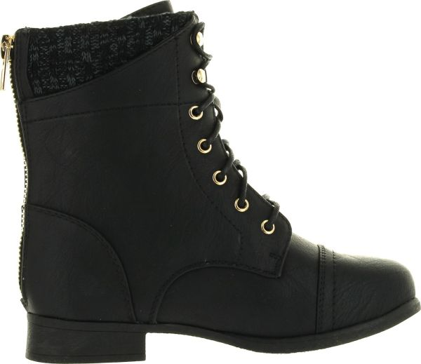 Ankle Boots with Sweater Cuff for Women