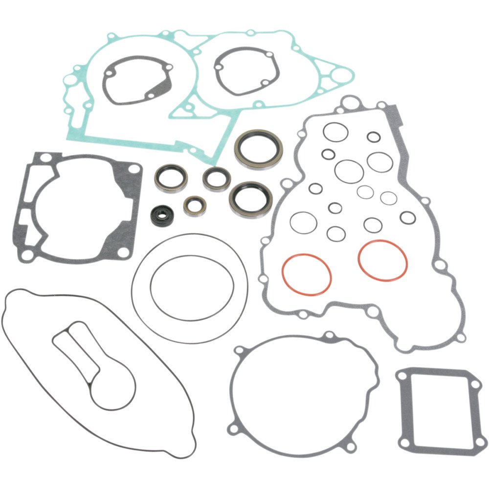 Moose Racing Complete Gasket Kit w/Oil Seals For KTM 250